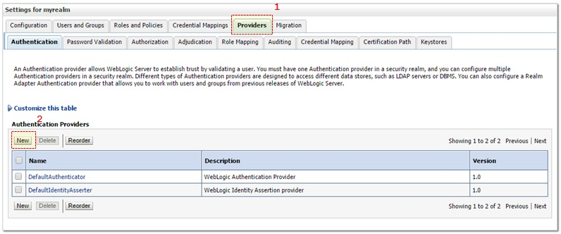 Weblogic - Active Directory (AD) Integration